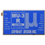 特定小電力シリアルデータ伝送無線モデムMU-3受信専用機 MU-3R-1216